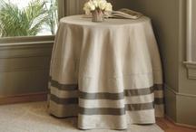 skirted tables / by Marianne Simon Design