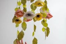 DIY Felt Crafts / Explore your creativity with DIY felt craft tutorials from Lia Griffith. Learn how to make felt flowers, download felt animal patterns, learn basic felting techniques and browse felt decorations.  #DIYFeltCraft