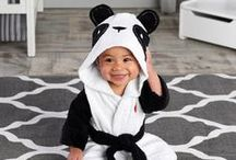 Bath Time Gifts / Cuddly robes, warm kimonos, and more fun bath time gifts for baby! / by Corner Stork Baby Gifts