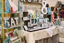 Craft Show Display / I'm always on the hunt for a genius idea or beautiful craft show booth design
