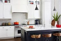 Kitchen ❤️ / I have always loved white kitchens. These are my ideas on how to make mine awesome :)