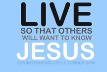 I LOVE JESUS/BLIND FAITH / by Patricia Z