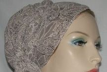 Tichel (Scarf) Head Coverings / Tichel designs that are unique and attractive.  Grea for modesty, religious and hair loss wear. Available in many colors and designs.