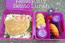 My Bentos & Lunches / Bento Lunches that I have created