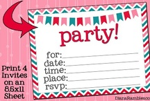 Free Cute Printables / Fun and adorable free printables from around the web