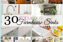 Farmhouse Sinks / by Andrea Cammarata