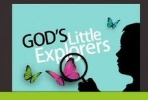 God's Little Explorers:  Free Christian Preschool Curriculum