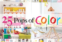 Pop of Color / by The Cottage Market
