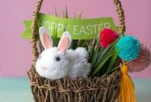 DIY Easter / Fun diy Easter projects, crafts, decorations, party decor and printables by diy designer Lia Griffith at www.LiaGriffith.com  #EasterCraft