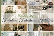 Fabulous Farmhouse Kitchens / by The Cottage Market