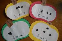 preschool-apples / by Amy Mandrola