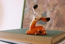 Kitsch Deer / Kitsch vintage deer, what's not to love?