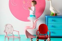 Kids Room Inspiration / Bedroom, nursery, playroom, styling ideas for children's rooms