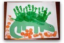 Preschool dinosaurs / by Amy Mandrola