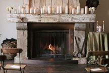 FIREPLACES / Warming Fireplaces to Drink Vino + Eat Chocolate + Rancho Relaxo x