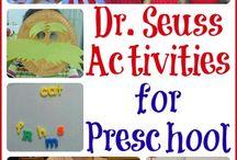 Preschool-dr. Seuss / by Amy Mandrola