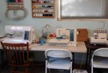 My Craft-Sewing Room / Ideas for organizing and decorating my sewing room.