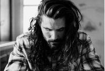 Men'style and beard