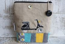 Applique / sewing / by Heleen Huyten