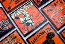 Vintage Halloween / Vintage Halloween Designs, Crafts, Projects and Inspiration.