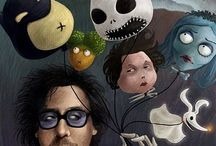 Tim Burton inspiration