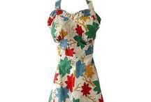 Vintage Fashion - 40s / 1940s fashion dresses / by Christina Seuser