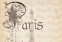 ~ Paris ~ / The most beautiful place filled with Romance & Elegance....