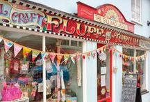 """""""The Gilliangladrag Fluff-a-torium"""" : Felting Knitting Crochet Sewing & Embroidery / Come and have a look in our #shop for #Knitting and #Crochet #yarns, #Felting #wools and #fibres #sewing and #stitching stuff, #haberdashery books and much more, from The Gilliangladrag Fluff-a-torium in #Dorking #Surrey UK. Or on our website where we ship worldwide!"""