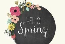 ~ Springtime Loveliness ~ / New beginnings....