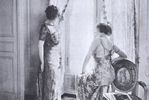 ~~ House of Callot Soeurs ~~ / Callot Soeurs was a fashion design house opened in 1895 at 24, rue Taitbout in Paris They were among the first designers to use gold and silver lamé to make dresses.  During the 1920s they were one of the leading fashion houses in Paris