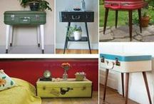~ Upcycled Projects ~ / Loads of inspiration.....