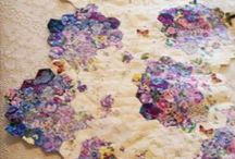 ~ Patchwork ~ / I adore combining fabrics, colours & pattern to create new designs...