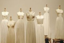 ~~ Madame Gres ~~ / Madame Grès (1903-1993) was a remarkable couturier in the 20th century, known for using delicate pleats which turned ordinary fabric into Greek sculpture.