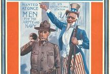 Songs from World War One / Sheet Music covers from the World War One era.