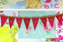 How to make Brussel Sprout Felt Bunting / How to make (easy peasy) Brussel Sprout Felt Bunting