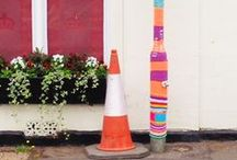 Yarn Bombing by The Guerilla Knitters of The Gilliangladrag Fluff-a-torium