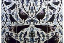 Tiles / Various examples of tiled murals we have produced.