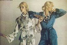 ~~ Ossie Clark ~~ / Ossie Clark was one of Britain's most influential fashion designers of the 1960s and 1970s.  Throughout his career he used the textiles designed by his wife Celia Birtwell.
