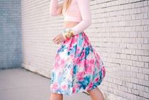 Spring Style / Florals, Spring outfit inspiration