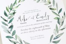 Invitations / Find more information about Bellagala Photography at: bellagala.com/wedding-photography