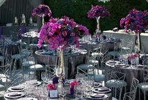 Party Ideas / Table settings, party tables, how to decorate a festive party table