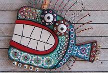 3-D Art Ideas / by Mary Ann Elkin
