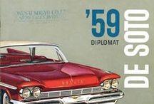 vintage car catalogue