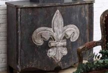 These are a few of my favorite things / Fleur de Lis is one of my favorites  / by Liv Varela