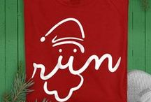 Christmas & Holiday / 'Tis the season for running! Our Christmas themed running apparel includes shirts, socks, hats, and more! Your Christmas running outfit will be sure to spread a jolly mood during your holiday run!