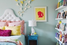 Girl Bedrooms / Interior design ideas and inspiration for girls rooms