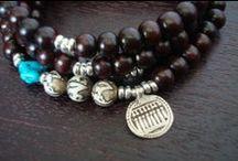 unisex | malas | bracelets / unisex yoga malas, buddhist malas, prayer beads, and wrap bracelets.  each purchase includes a silk sari mala bag, polishing cloth, gemstone card, and free 2-3 day priority shipping within the u.s.