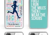 Phone Cases /   You love your iPhone, you love Running, why not put the two together? This customizable, protective case is the perfect accessory for any runners phone. This great Cell Phone Case fits the iPhone 4, iPhone 4S, iPhone 5 and Samsung Galaxy S3.
