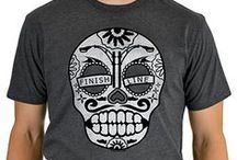 Day Of The Runner / You're one tough runner. Show it off with the Day of The Runner sugar skull shirt!