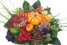 Herfst bloemen / Bloemen bezorgen in mooie herfst kleuren! Haal de Herfstsfeer in huis. Bekijk een greep uit ons assortiment, bestel of laat u inspireren!  / by verstuureenbloemetje.nl